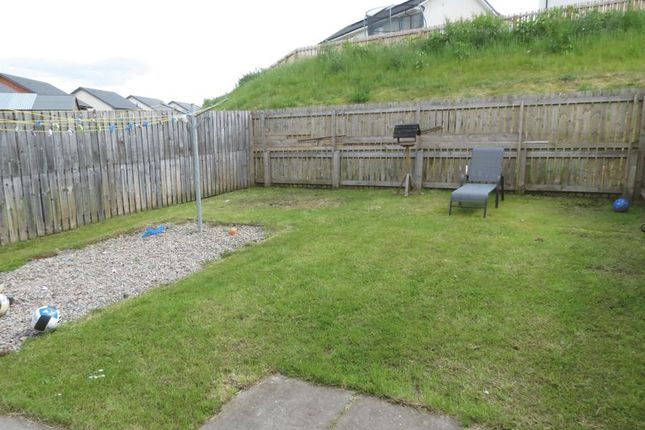 Rear Garden of Bridgeview, Conon Bridge, Dingwall IV7