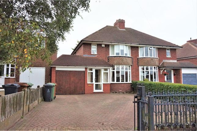 Thumbnail Semi-detached house for sale in Lazy Hill Road, Walsall
