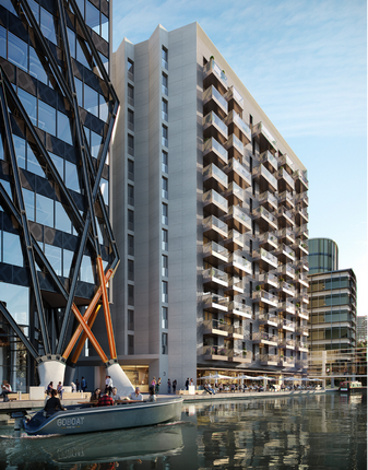 Thumbnail Flat for sale in 3 Canalside Walk, London