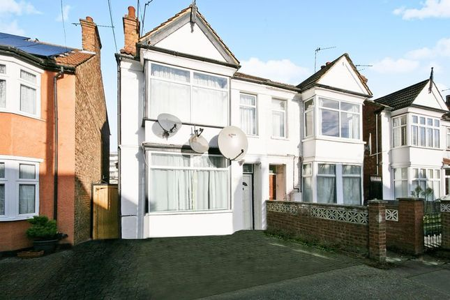 Thumbnail Semi-detached house for sale in Central Road, Sudbury, Wembley