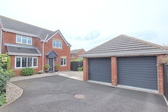Thumbnail Detached house for sale in Viburnum Close, Marske-By-The-Sea, Redcar