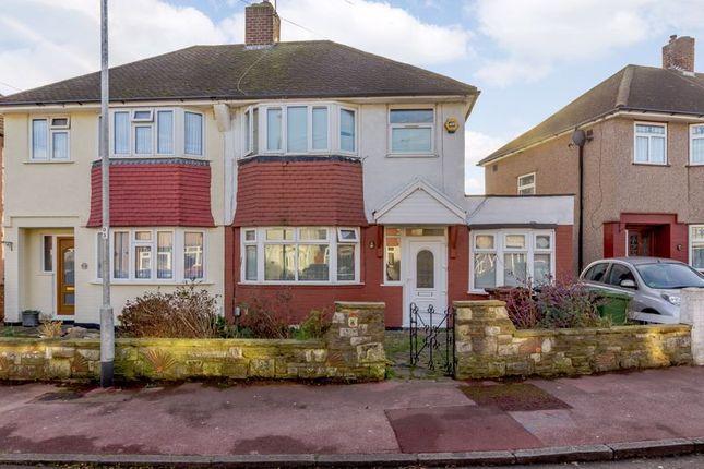 Thumbnail Semi-detached house for sale in Dunbar Avenue, Dagenham