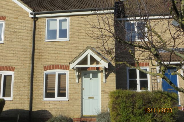 Thumbnail Terraced house to rent in Old Brewery Close, Ely