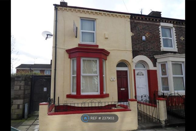 Thumbnail End terrace house to rent in Bianca Street, Liverpool