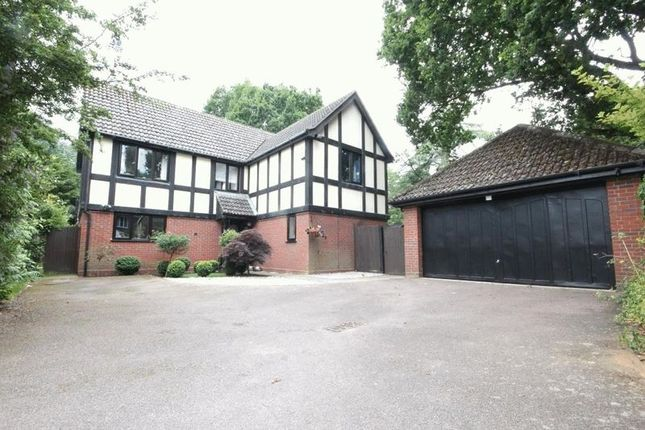 Thumbnail Detached house for sale in Gardyn Croft, Taverham, Norwich