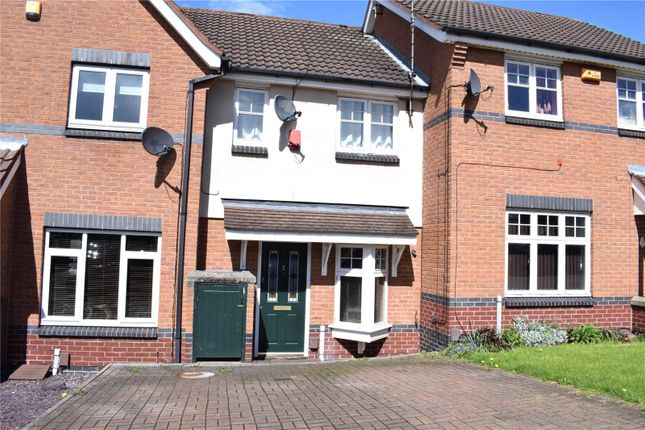Thumbnail Terraced house to rent in Wooliscroft Close, Shipley View, Ilkeston, Derbyshire