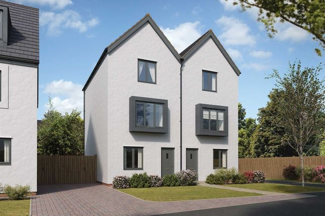 "3 bed semi-detached house for sale in ""The Greyfriars"" at Church Road, Old St. Mellons, Cardiff CF3"