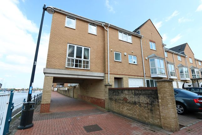 Thumbnail Semi-detached house to rent in Pierhead View, Penarth