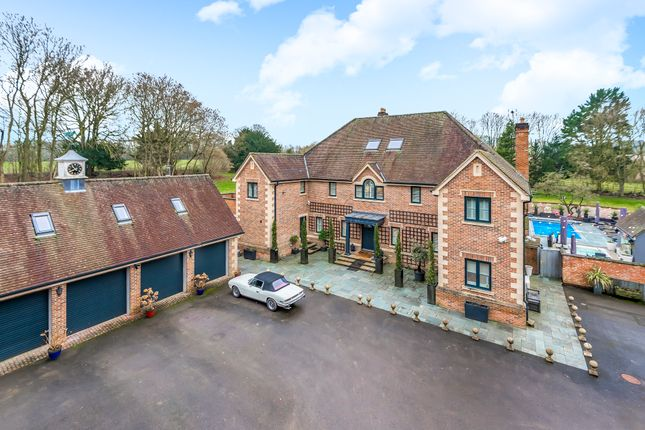 Thumbnail Detached house for sale in Middlecot, Quarley, Andover
