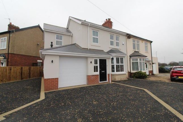 Thumbnail Semi-detached house to rent in Plessey Road, Blyth