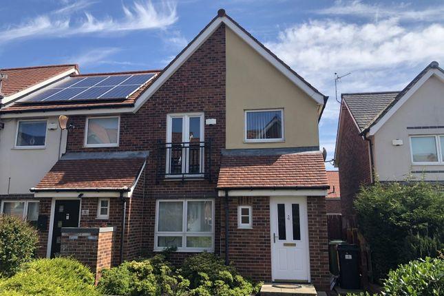 3 bed semi-detached house to rent in Hudson Walk, Ashington NE63