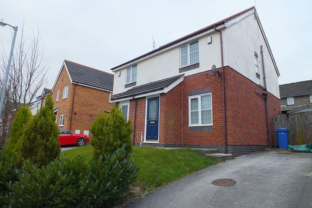 Thumbnail Semi-detached house to rent in Blackbrook Drive, Ruabon, Wrexham