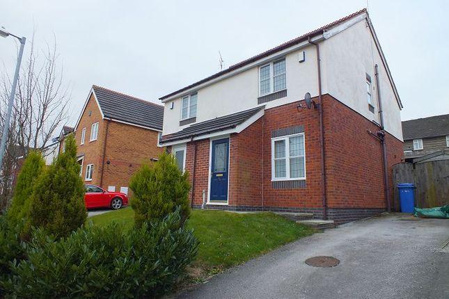Thumbnail Semi-detached house to rent in Blackbrook Drive, Ruabon, Wrexham