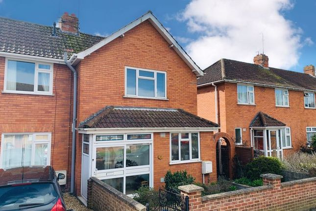 Thumbnail End terrace house for sale in Northfield Road, Taunton