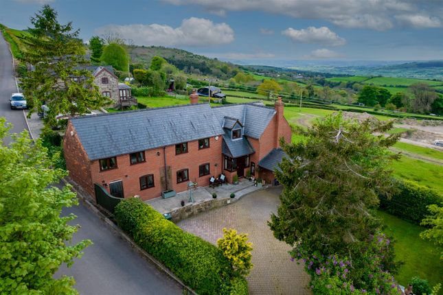 Thumbnail Detached house for sale in Bromlow, Nr Minsterley, Shrewsbury