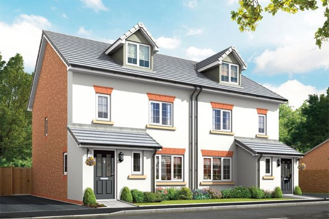 Thumbnail Semi-detached house for sale in Squirrels Chase Chestnut Avenue, Shavington, Crewe