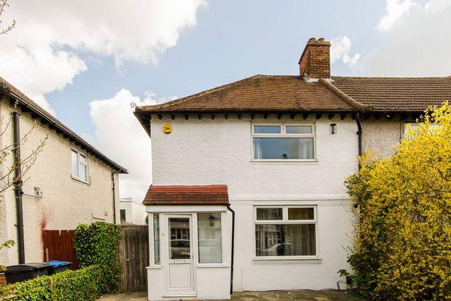 Thumbnail Semi-detached house to rent in Kingston Road, Kingston