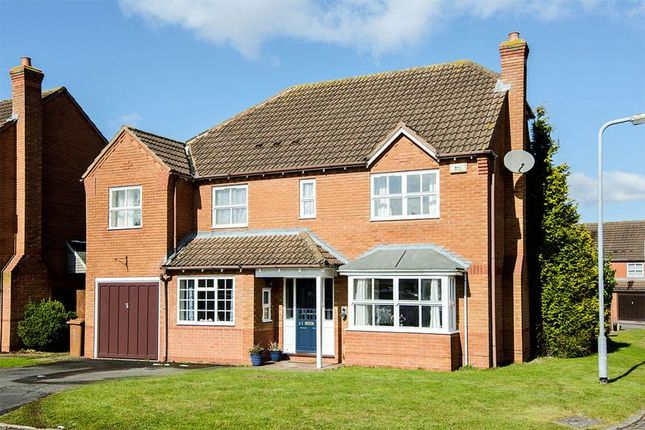 Thumbnail Detached house for sale in Manor Rise, Boley Park, Lichfield