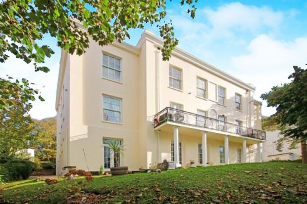 Thumbnail Flat for sale in Lower Woodfield Road, Torquay