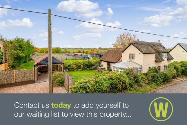 Detached house for sale in Lily Cottage, Hay Street, Steeple Morden