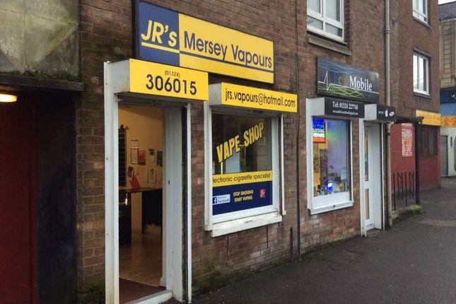Thumbnail Retail premises for sale in 244 Main Street, Falkirk