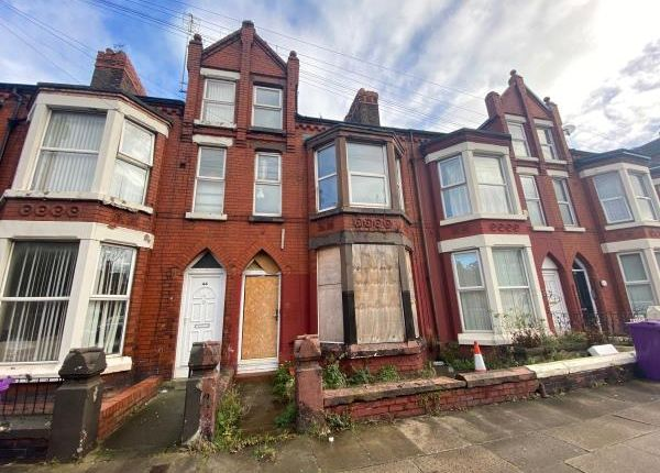 Thumbnail Terraced house for sale in Sheil Road, Fairfield, Liverpool