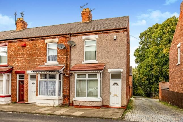 Thumbnail 2 bed end terrace house for sale in Craig Street, Darlington, Co Durham, .