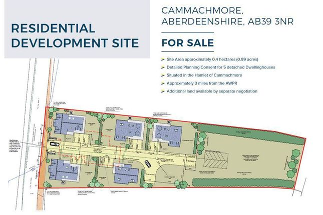 Thumbnail Land for sale in Cammachmore, Stonehaven