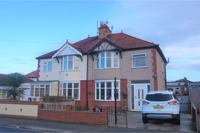 Thumbnail Semi-detached house for sale in Weaver Avenue, Rhyl