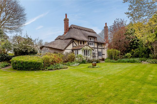 Thumbnail Detached house for sale in Offham, South Stoke, Arundel, West Sussex