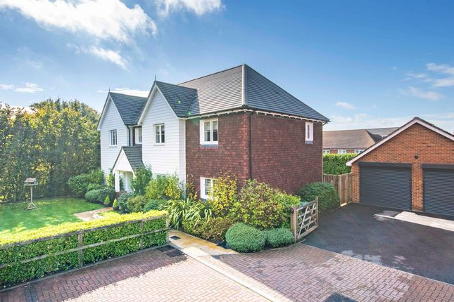 Thumbnail Detached house for sale in Poppyfields, Charing