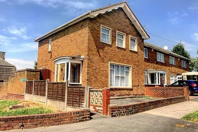 End terrace house for sale in Ladbury Road, Walsall