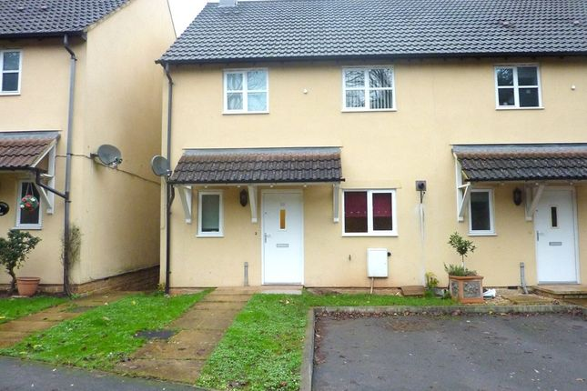 Thumbnail End terrace house to rent in Old Station Close, Chalford, Stroud, Gloucestershire