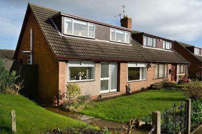 Thumbnail Semi-detached bungalow for sale in Ivinson Road, Tweedmouth, Berwick-Upon-Tweed, Northumberland