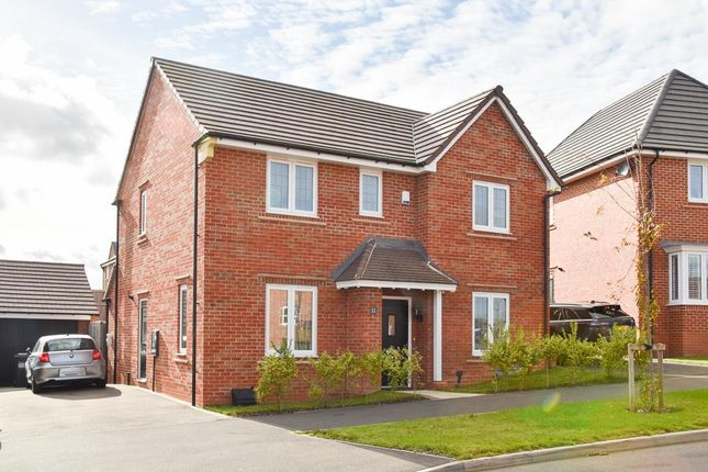Thumbnail Detached house for sale in Underhill Way, Bishops Tachbrook, Leamington Spa