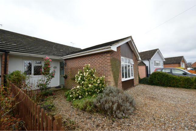 Thumbnail Semi-detached bungalow for sale in Jacqueline Gardens, Billericay