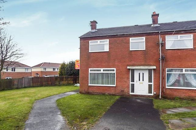 Thumbnail Terraced house to rent in Waverley Court, Bedlington