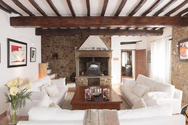 Fireplace of Casa Montecastelli, Umbertide, Umbria