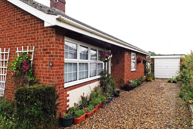 Thumbnail Bungalow for sale in Hillside Crescent, Wicklewood, Wymondham