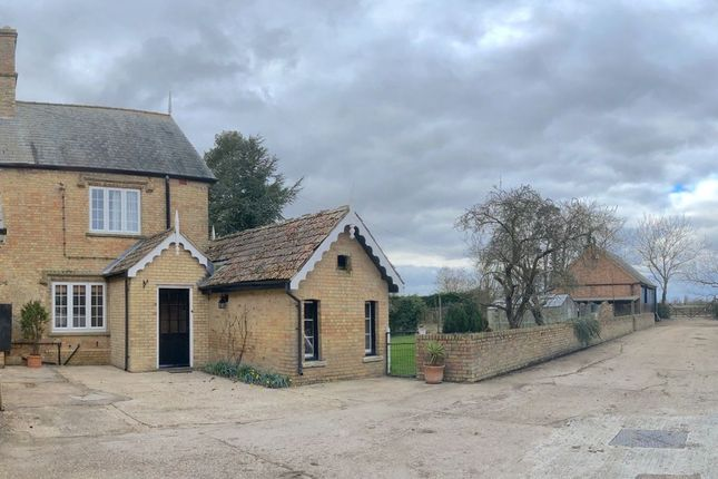 Thumbnail Semi-detached house to rent in The Cottage, Clopton Road, Old Weston, Huntingdon