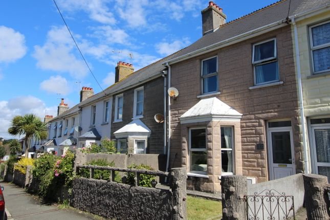 Thumbnail Terraced house for sale in Clarence Road, Torpoint, Cornwall