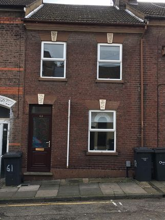 Thumbnail Terraced house to rent in 63 Cardigan Street, Luton