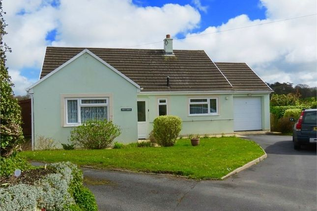 Thumbnail Detached bungalow for sale in Church Road, Llanarth
