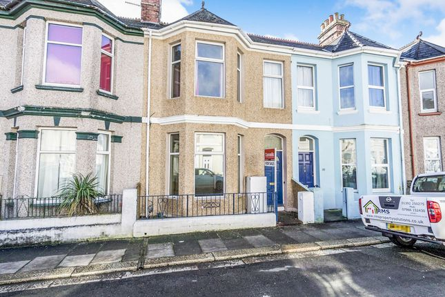 Thumbnail Flat for sale in St Leonards Road, Cattedown, Plymouth
