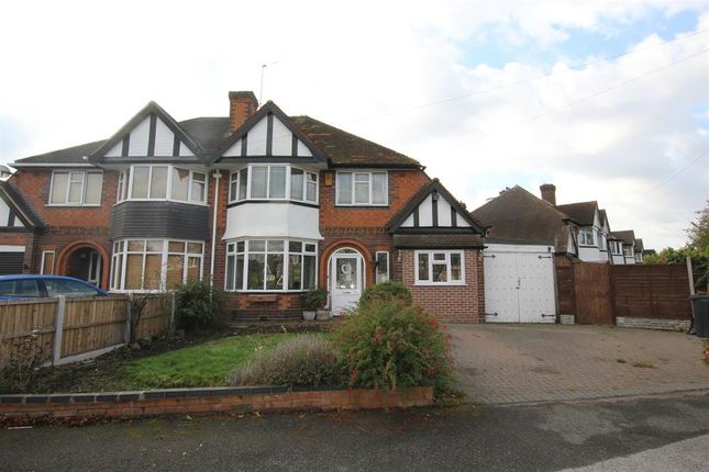 Thumbnail Semi-detached house for sale in Beeches Drive, Birmingham