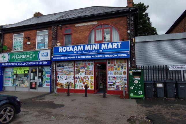 Thumbnail Retail premises for sale in 879 Washwood Heath Road, Birmingham