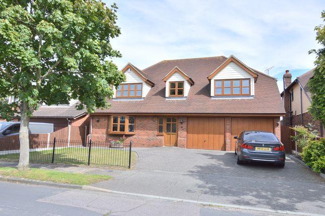 Thumbnail Detached house for sale in Bradley Avenue, Benfleet