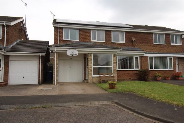 Thumbnail Semi-detached house for sale in Frome Place, Parkside Dale, Cramlington
