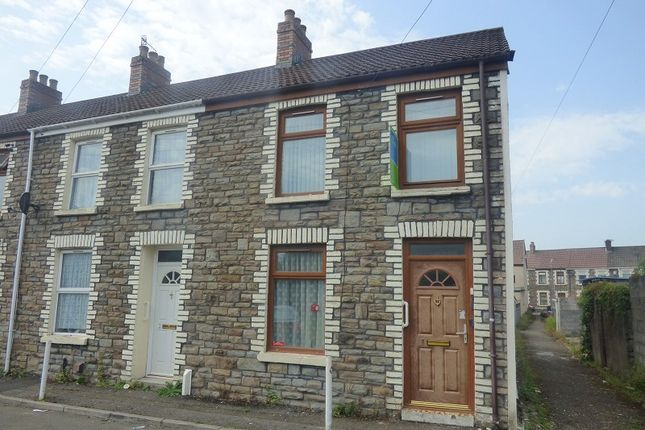 Thumbnail End terrace house to rent in Rees Place, Neath, West Glamorgan.