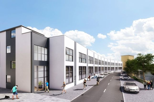Thumbnail Flat for sale in River Wandle Apartments Restmor Way, Hackbridge Village, Wallington